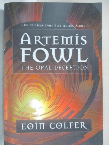 【書寶二手書T7/少年童書_GV8】The Opal Deception_Colfer, Eoin