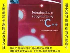 二手書博民逛書店Introduction罕見to Programming wit