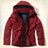 (BJGO) Hollister _男裝_The Hollister Sherpa Lined All-Weather Jacket 海鷗羊絨內襯四季風衣夾克/全天候夾克