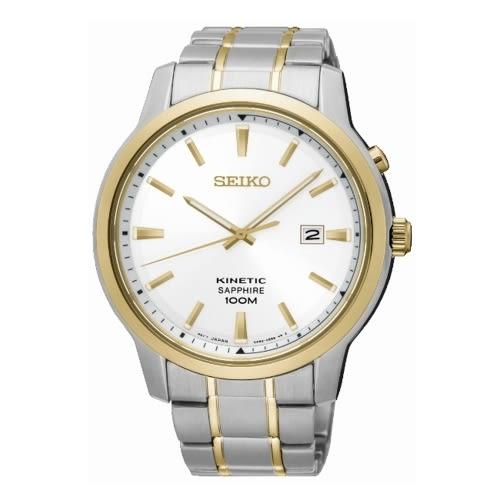 SEIKO CS優雅紳士人動電能腕錶/半金/5M82-0AX0KS/SKA742P1