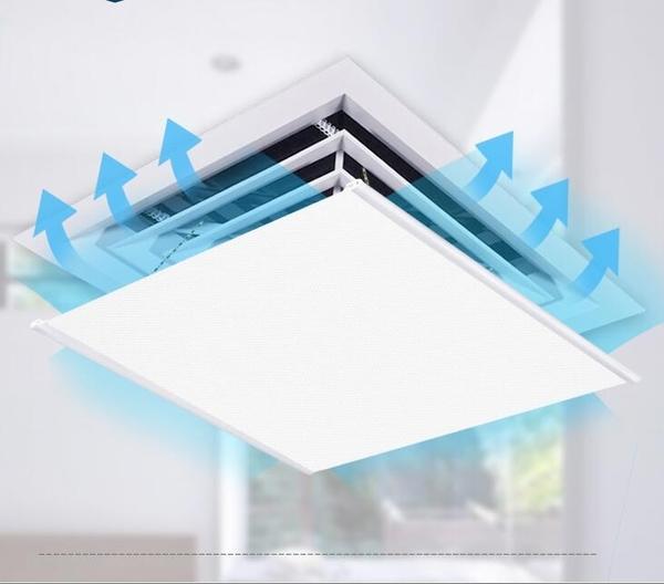 冷氣擋風板 中央空調擋風板防直吹空調導風板空調出風口擋板擋風罩【快速出貨八折搶購】