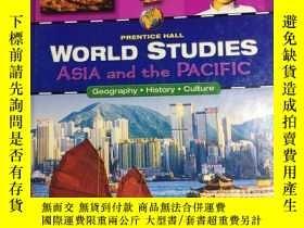 二手書博民逛書店WORLD罕見STUDIES ASIA AND THE PACIFIC 世界研究 亞洲和太平洋 精裝英文版 學生學