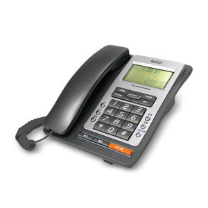 ^聖家^歌林來電顯示型有線電話機~深灰色 KTP-703L 【全館刷卡分期+免運費】