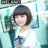 假髮(短髮)-時尚俏麗可愛齊瀏海女假髮73em50【時尚巴黎】