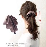 髮夾 緞帶香蕉夾馬尾夾蝴蝶結髮卡 【新飾界】 新飾界