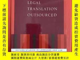 二手書博民逛書店Legal罕見Translation Outsourced (法