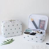 化妝包化妝包女ins 風超火網紅洗漱品收納盒小號大容量便攜簡約化妝袋9 17