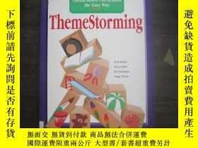 二手書博民逛書店ThemeStorming:罕見How to Build a T