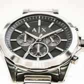 【人文行旅】A/X Armani Exchange   亞曼尼 AX2600 率性線條三眼腕錶