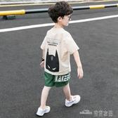 童裝男童夏裝套裝新款洋氣中大童兒童男孩兩件套韓版帥氣潮裝(聖誕新品)