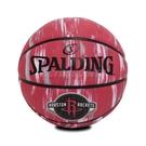 Spalding 籃球 NBA Houston Rockets Rubber 紅 白 7號球 室外 大理石印花 運動休閒 【ACS】 SPA84150
