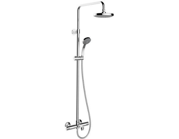 【麗室衛浴】美國第一品牌 KOHLER 三路定溫淋浴花灑組含下出水 K-99742-C9-CP 促銷優惠 止到2018/06/30