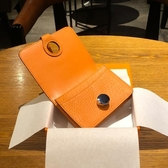 證件包 H家卡包女式 多卡位真皮卡片包韓國可愛零錢包銀行卡套名片夾卡袋 莎拉嘿呦