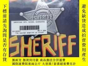 二手書博民逛書店the罕見secre sheriff of sixth gradeY254800