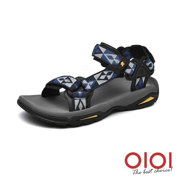 涼鞋 輕便穩步沙灘溯溪情侶鞋(男款-深藍灰)*0101shoes【18-ST-22db】【現+預】