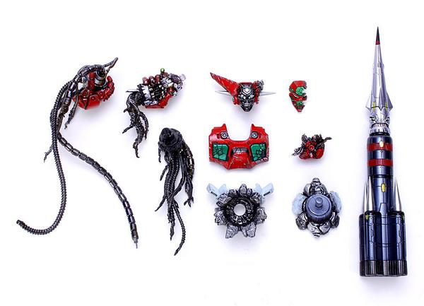 EX合金PLUS ROBOT師WORKS 蓋特機器人1號 最終決戰配件 重繪色ver. 無本體 代理玩具e哥00016