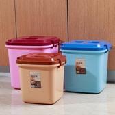 寵物飼料儲糧桶儲米箱密封防蟲防潮汪喵