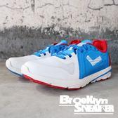 PONY 藍紅 皮革 輕量 透氣 慢跑鞋 男女 (布魯克林)  63M1VE62RB 63W1VE62RB