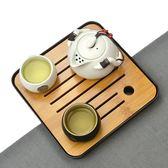 茶具套裝功夫茶茶具套裝 家用 半自動木質懶人功夫茶杯茶道陶瓷整套實木茶盤JD 歡樂聖誕節
