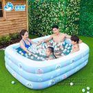 充氣游泳池家庭寶寶成人超大戲水池加厚家用海洋球池