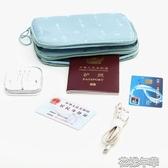 護照包旅行便攜機票收納包證件包袋護照夾防水保護套多花樣年華