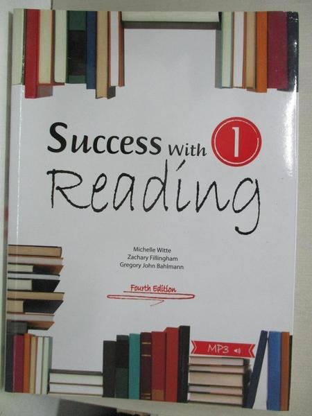 【書寶二手書T1/語言學習_DIA】Success with reading 1_Gregory John Bahlmann