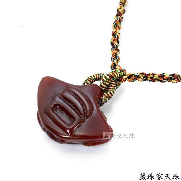 《藏珠家天珠》十二星座--雙魚座天珠項鍊