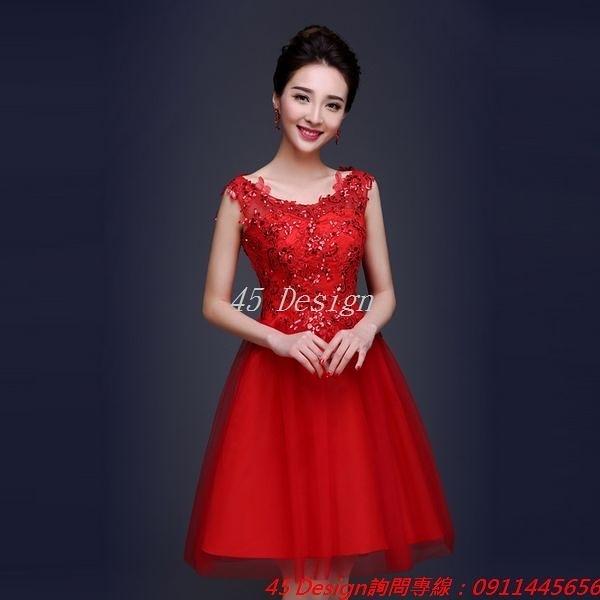 (45 Design) 訂做款式7到貨晚裝禮服 胖媽媽裝 訂婚喜慶 旗袍禮服 大尺寸 小尺寸訂製