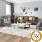 地毯北歐家用客廳沙發茶幾臥室房間床邊地墊【小獅子】