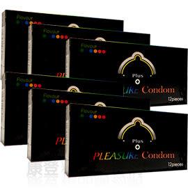Pleasure樂趣 前端加厚 物理性持久保險套批發 (六盒共72入) 康登保險套商城