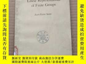 二手書博民逛書店linear罕見representations of finite groups(P343)Y173412