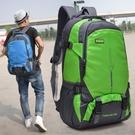 瑞士雙肩包男大容量戶外旅游時尚兩用多功能輕便潮徒步旅行背包女 小山好物