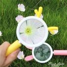 兒童放大鏡高清幼兒園高清卡通可愛小兔子學生科學兒童放大鏡 果果輕時尚