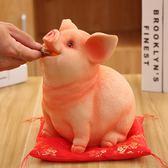 大號可愛小豬存錢罐動物兒童儲蓄罐收納盒送女生生日禮物酒架擺件