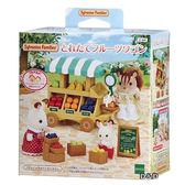 《 森林家族 - 日版 》森林水果推車╭★ JOYBUS玩具百貨