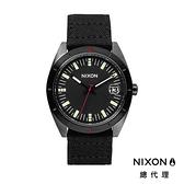【官方旗艦店】NIXON ROVER 軍風 帆布錶帶 黑 潮人裝備 潮人態度 禮物首選