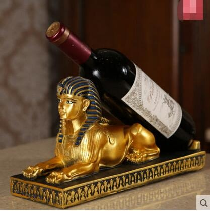歐式創意時尚個性樹脂紅酒架擺設酒架擺件酒架吉祥動物葡萄酒架