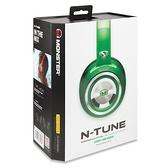 美國 Monster N-TUNE V3  糖果繽紛色彩 (綠色) ,耳罩式線控耳機,公司貨,保固一年
