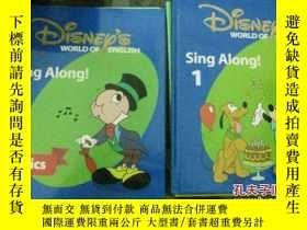 二手書博民逛書店Disney s罕見World of English(Sing