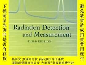 二手書博民逛書店Radiation罕見Detection And MeasurementY256260 Glenn F. Kn