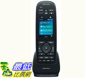 [103美國直購] 羅技 Logitech Harmony Ultimate One IR Remote with Customizable Touch Screen Control (915-000224)