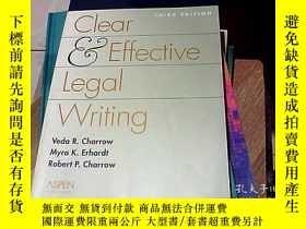 二手書博民逛書店清晰而有效的法律寫作Clear罕見& Effective Leg