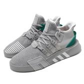 【海外限定】adidas 休閒鞋 EQT Bask ADV 灰 綠 男鞋 運動鞋 【PUMP306】 B37514