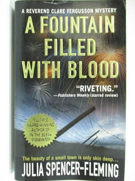 【書寶二手書T5/原文小說_A2Z】A Fountain Filled With Blood