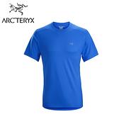 Arc'teryx 始祖鳥 Velox 短袖圓領排汗衣 參宿藍 男款 #20987