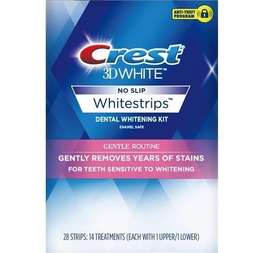 Crest 3D White美白牙貼14片【愛買】