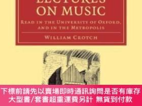 二手書博民逛書店Substance罕見Of Several Courses Of Lectures On Music Read I