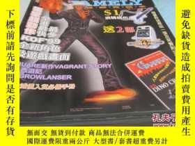 二手書博民逛書店X罕見GAMELY 1999年 VOL.1【一本書16開66頁,