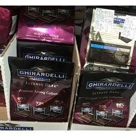 [COSCO代購] GHIRARDELLI 黑巧克力綜合包 543公克 (兩入裝)  W530447