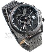 T5 sports time 三眼計時碼表 賽車錶 雙V 潮男 學生錶 防水手錶 日期視窗 男錶 IP黑電鍍 H3628G黑